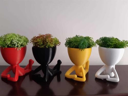 kit decorativo vaso bob 3 peças