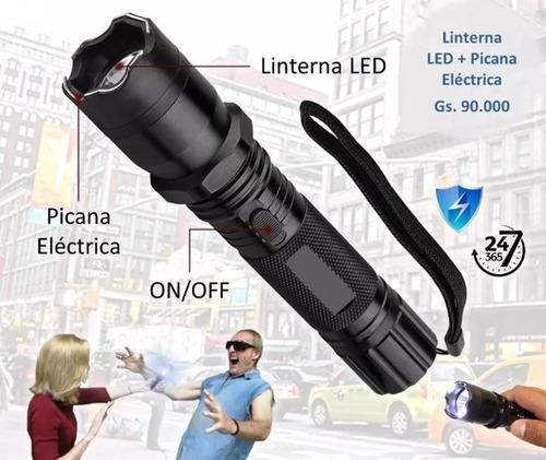 kit defensa personal (gas pimienta+picana+extensible)