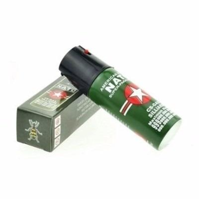 kit defensa personal taser linterna- tambo- gas