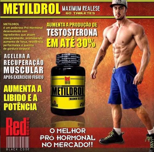 kit definição metildrol (60 tabs) + sekka adomen 30 tabs