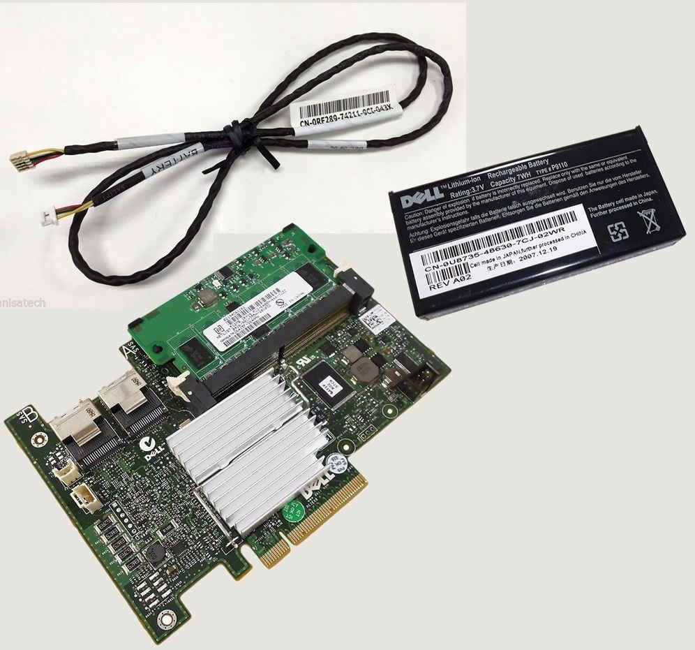 Kit Dell Perc H700 Raid Hotswap 512mb Poweredge R410 R710
