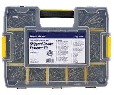 kit deluxe - 1008 tornillos