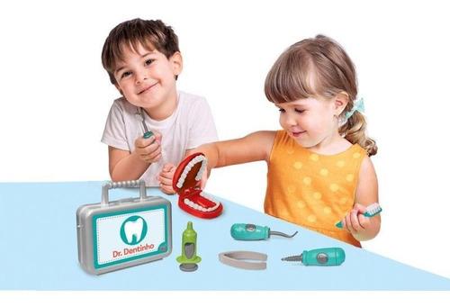 kit dentista doutor dentinho brinquedo sem juros