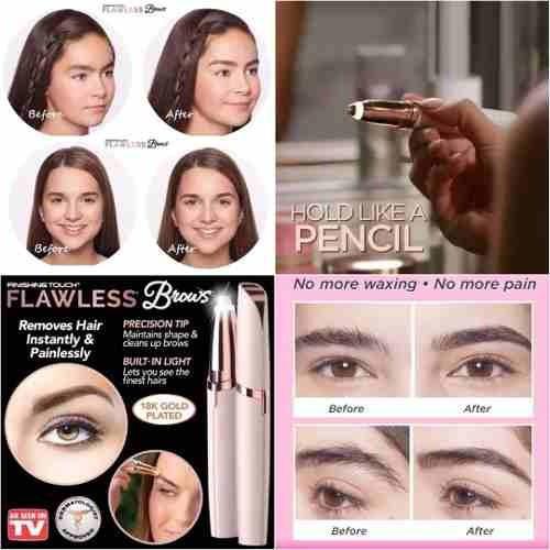 kit depilador facial flawless indolor instantâneo, depilador