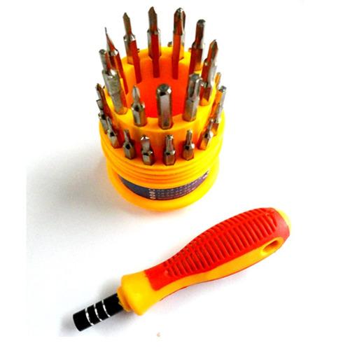 kit desarmadores 30 puntas magneticas celulares pda notebook