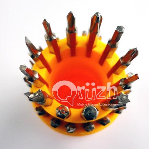 kit desarmadores 30puntas magneticas intercambiables celular