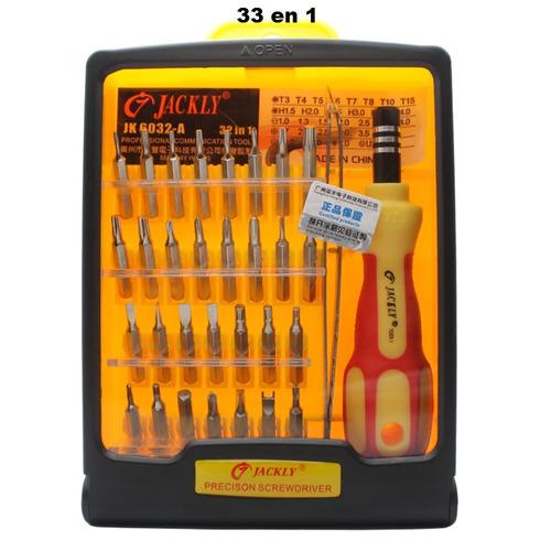 kit desarmadores 32 en 1