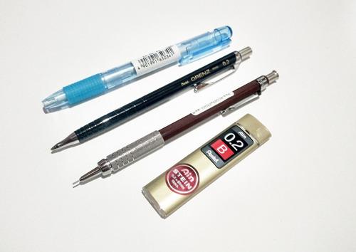 kit desenho lápis grafite com 7 pçs