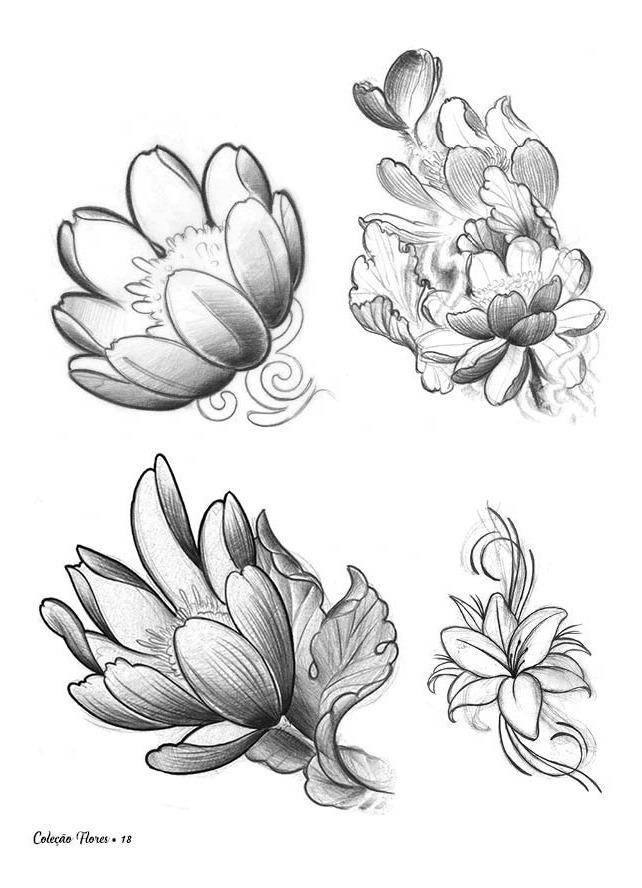 Kit Desenhos P Tatuagem Mandalas E Flores Promoção