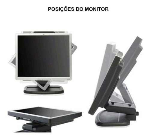 kit desktop hp elite core 2 quad 2gb 160gb monitor 17