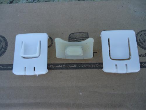 kit deslizante trilho banco gol g1 g2 g3 g4 g5 g6 original