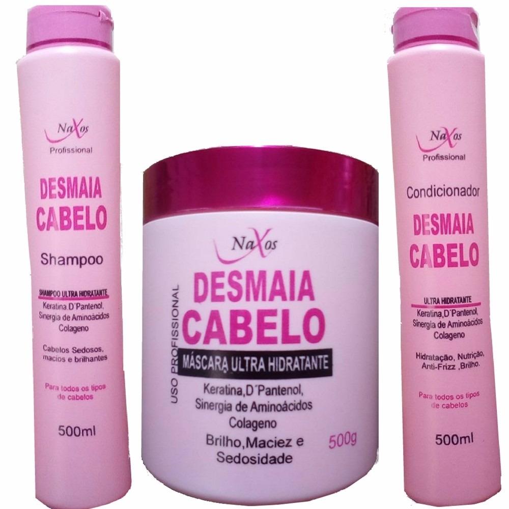 db198138b kit desmaia cabelo naxos-shampoo condicionador mascara. Carregando zoom.