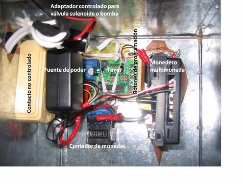 kit despachador de agua lcd (todo, sin la caja)