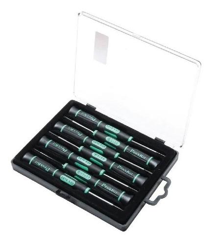 kit destornillador electronica 7 piezas proskit sd-081a