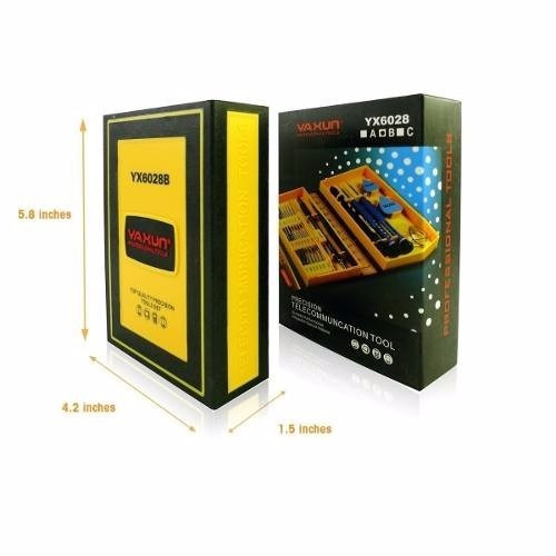 kit destornilladores celulares herramientas profesional repa