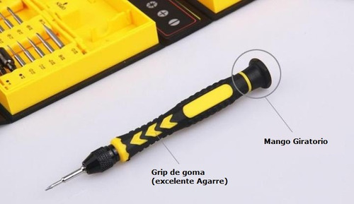 kit destornilladores celulares herramientas yaxun reparacion