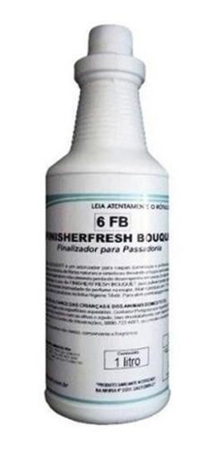 kit detergentes finisher fresh 1l + clean peroxy 5l spartan