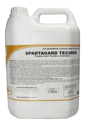 kit detergentes spartagard 5l + finisher fresh 1l spartan