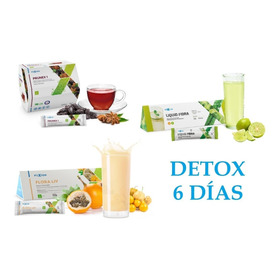 Kit Detox Natural Fuxion | Prunex + Flora Liv + Liquid Fibra