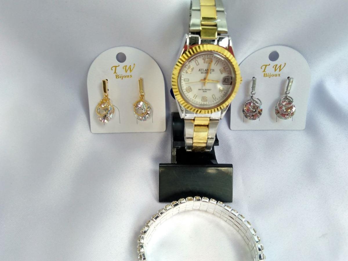 33f9950bb9b ... namorados relógio atlantis bijuterias. Carregando zoom.