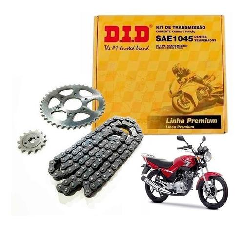 kit did brasil yamaha ybr 125 al mejor precio sti motos full
