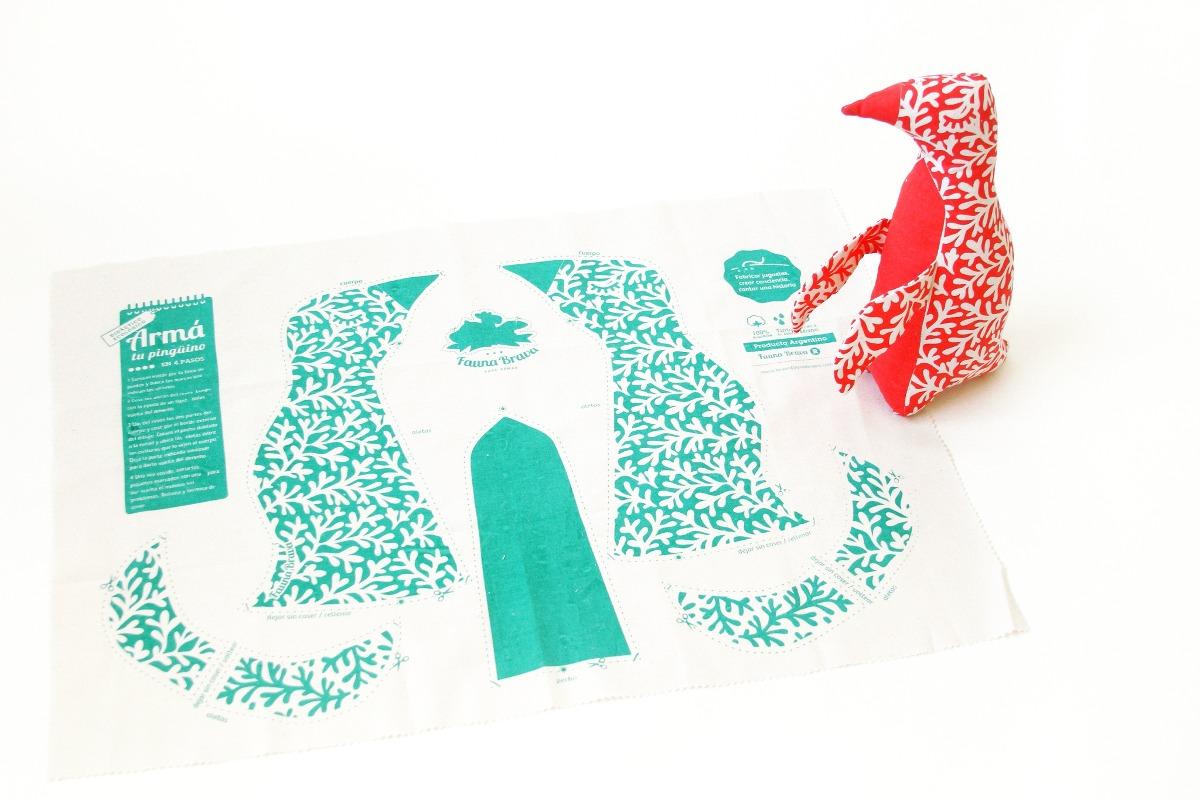 Kit Didáctico De Costura Fauna Brava - $ 360,00 en Mercado Libre