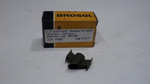 kit difusor tromba 2 corpo monza 1.8 85/86