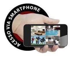 kit digital 2 câmeras vigilância dvr 4c cabo hdmi acesso app