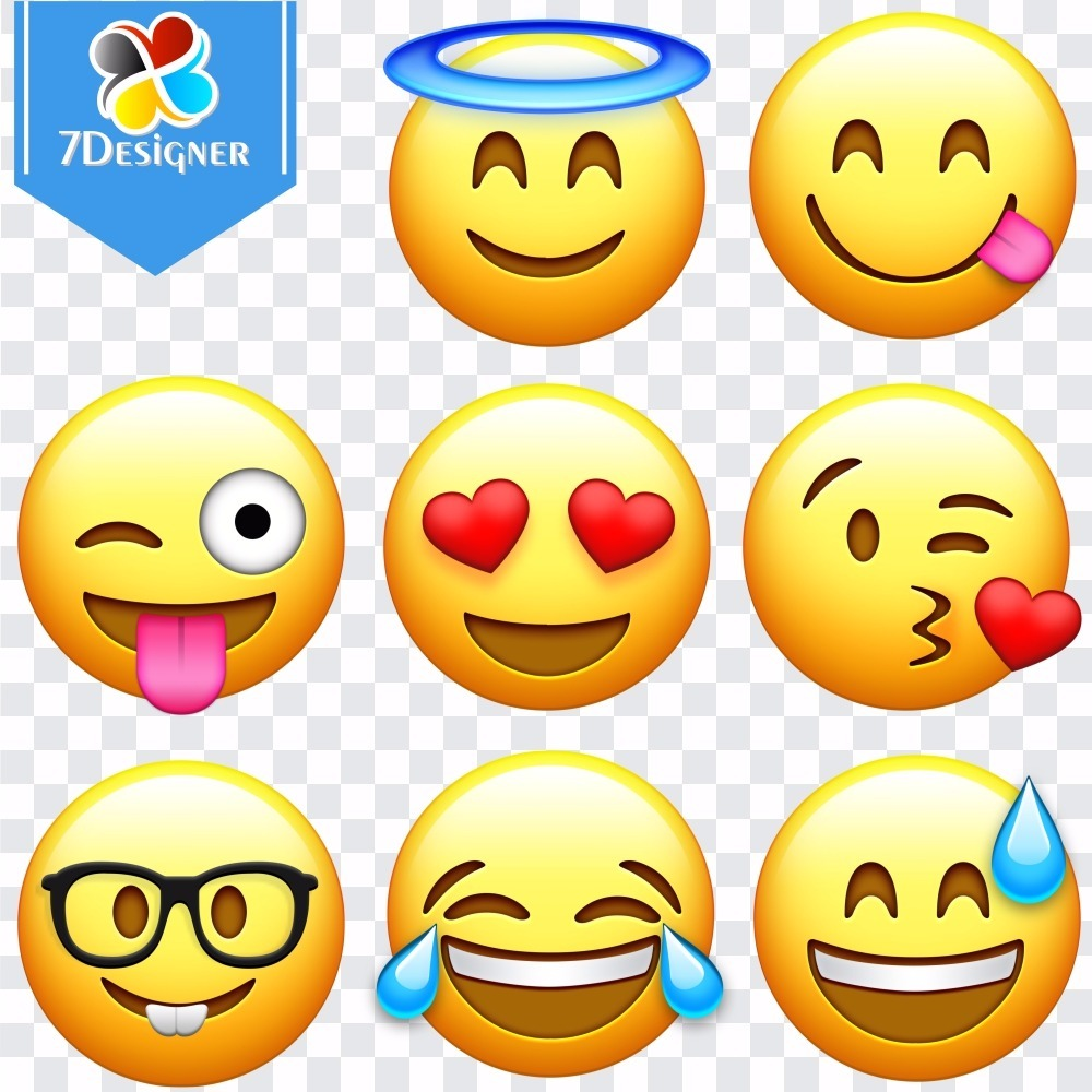 Kit Digital Emoji Whatsapp Em Png