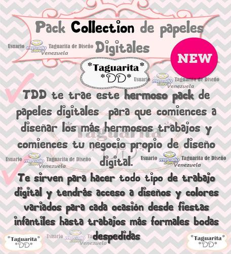 kit digital imprimible papel fondos imagenes scrapbook new