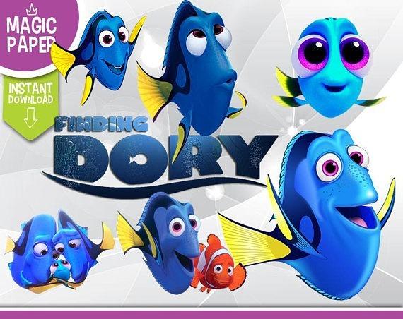 Kit Digital Scrapbook Procurando Dory Nemo Fundo Do Mar Png