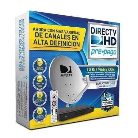 kit directv prepago instalo , localizo señal en el dia