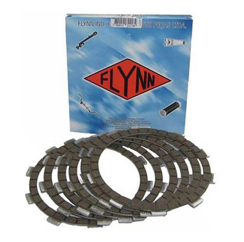 kit disco de embreagem flynn  (cbx 150cc|nx 150)