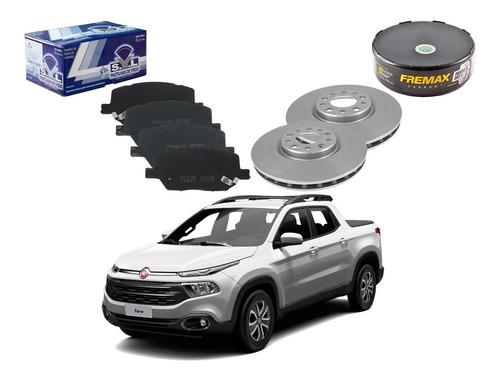 kit disco pastilha freio original fiat toro 2.0 2017