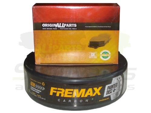 kit disco + pastilha freio traseiro bmw x1 15/.. f48 20i 25i