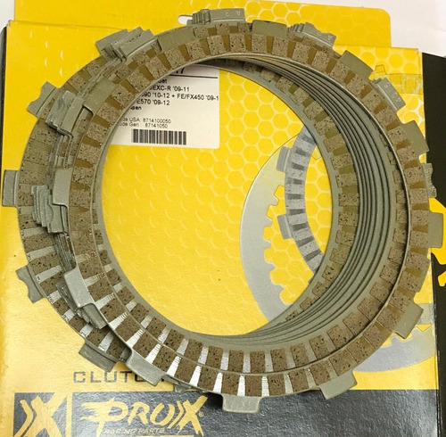 kit discos embrague ktm exc 450 530 09/11 prox solomototeam