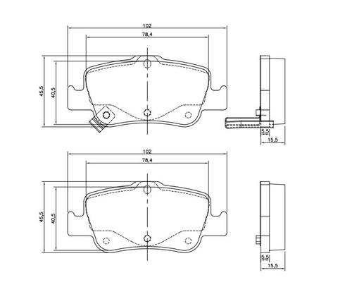 kit discos + pastilhas de freio corolla 2009 em diante