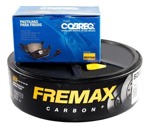 kit discos + pastilhas dianteiros fox 1,6 2011 2012 2013