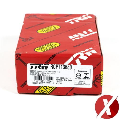 kit discos pastilhas freio dianteiro onix 1.0 sem abs 2013