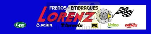 kit discos y pastillas  renault 19. lorenzo frenos