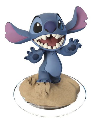 kit disney infinity - merida + stitch + 2 power discs