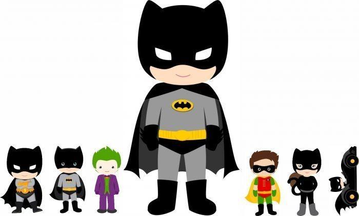 Kit Display 7 Pecas De Chao E Mesa Batman Baby R 69 00 Em