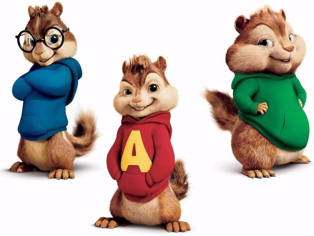 Resultado de imagem para alvin e os esquilos