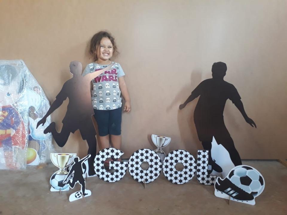kit display bolas de futebol 6 peças. Carregando zoom. eb37b801ec8f2
