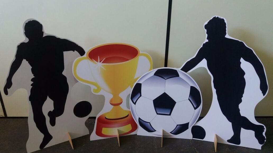 kit displays de chão futebol 8 peças + elipse bola 50cm. Carregando zoom. 538d3e4bfcd08
