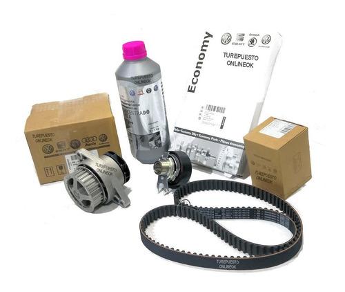 kit distribucion + bomba agua original vw crossfox 1.6 8v