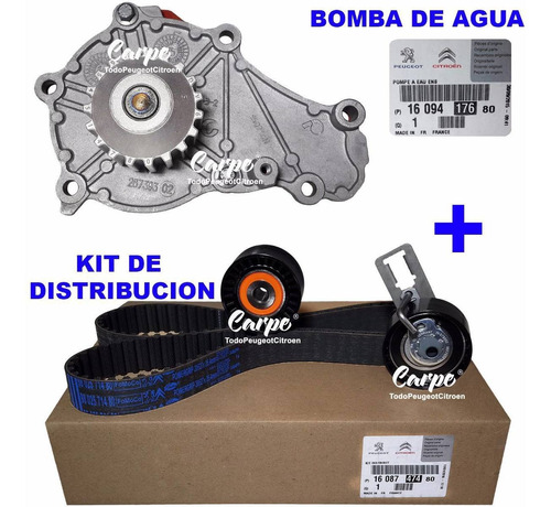 kit distribucion + bomba citroen berlingo 1.6 hdi original