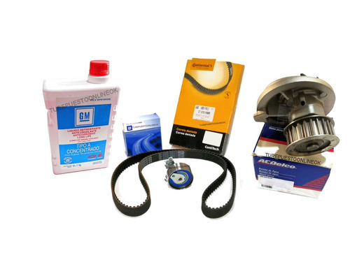 kit distribucion bomba + refrig gm chevrolet vectra 2.0 16v