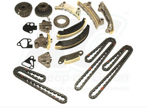 kit distribucion cadena saturn vue v6 3.6l  2008 -2009 xkp