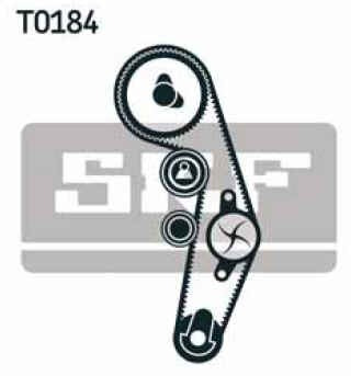 kit distribución skf audi a4 sedan 1.9 tdi 97-07